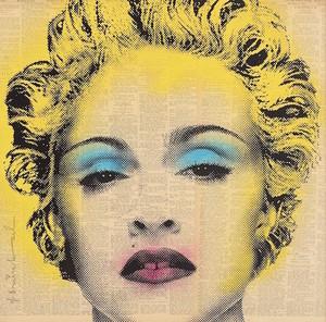 MR BRAINWASH - Print-Multiple - Madonna