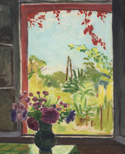 Albert MARQUET - Painting - La fenêtre à Méricourt