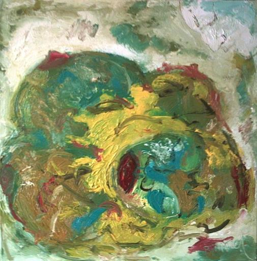 Bernard MOREL - Gemälde - FEMME