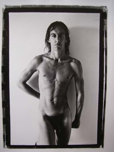 Gérard MALANGA - Photography - Iggy Pop nude
