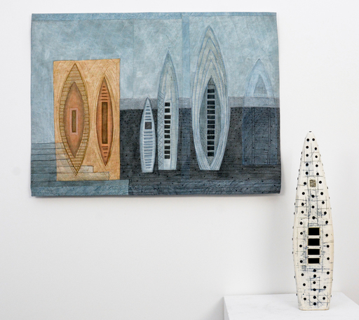 Heather Allen HIETALA - Ceramic - Sounding IV