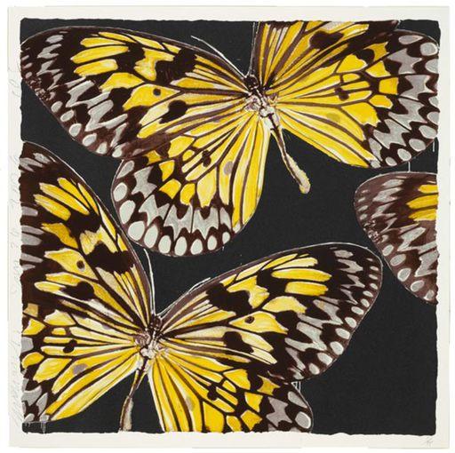 Donald SULTAN - Print-Multiple - Monarchs, Jan. 24