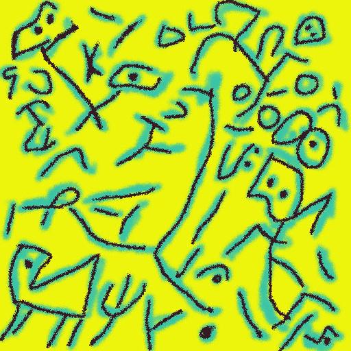 Harry BARTLETT FENNEY - Audiovisual-Multimedia - the ornithologist (digi drawing 2001)