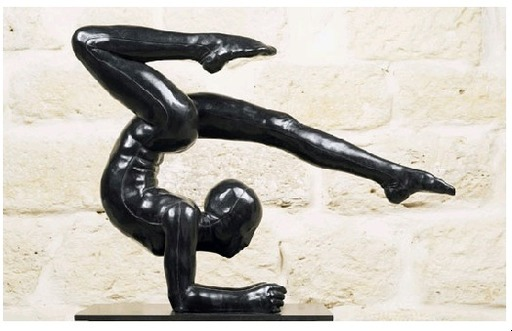 Mauro CORDA - Sculpture-Volume - Contorsioniste III