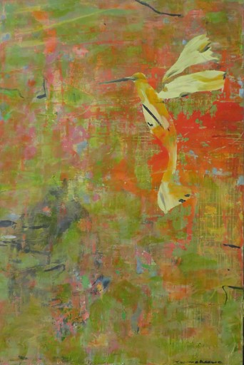 Tung-Wen MARGUE - Painting - L'approche