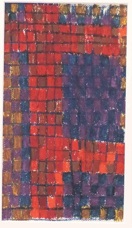 """Aurélie NEMOURS - Drawing-Watercolor - Grille-nombre """"Re Rom 596"""""""