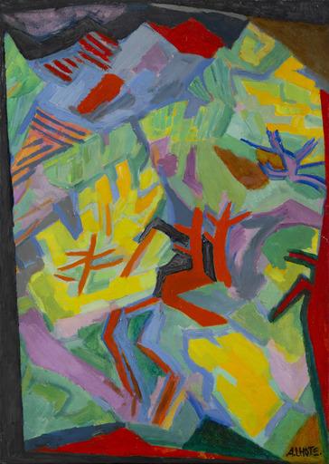 André LHOTE - Painting - La Forêt à La Cadière