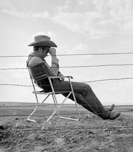 Frank WORTH - Print-Multiple - James Dean seated