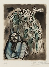 Marc CHAGALL (1887-1985) - Moses and his People