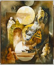 Roger SURAUD - Peinture - INVITATION AU VOYAGE