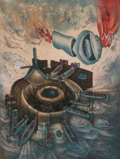 Roberto MATTA - Estampe-Multiple - Chaosmos