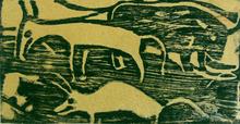 Christian ROHLFS - Print-Multiple - Animals in the Pasture | Tiere auf der Weide