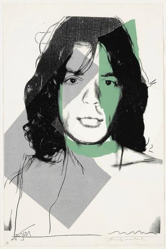 Andy WARHOL - Print-Multiple - Mick Jagger F&S II.138
