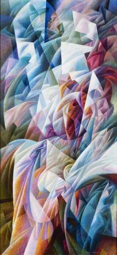 Ivan TURETSKYY - Peinture - Parfume. Composition No 1