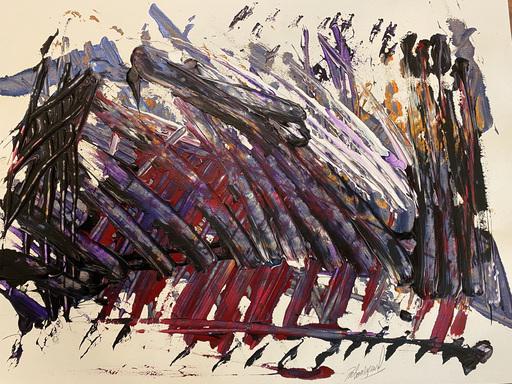 Jérémie REBOURGEARD - Gemälde - Eloges Elogeuses
