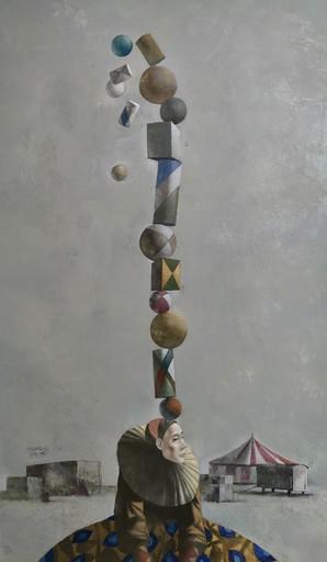 Bobur ISMOILOV - Pittura - Gravity