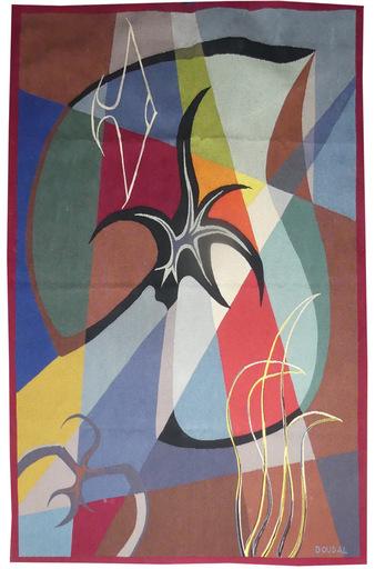 Jean BOUDAL - Tapisserie - Composition