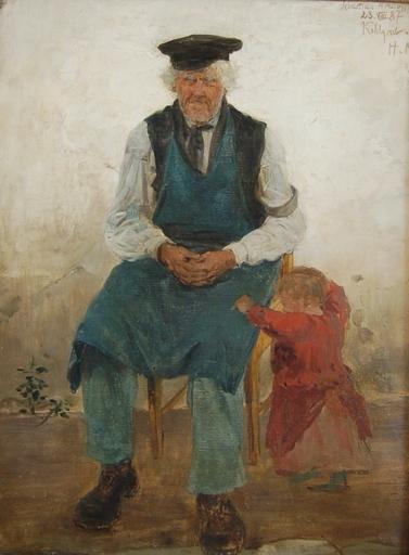 Hugo MÜHLIG - Painting - Sebastian