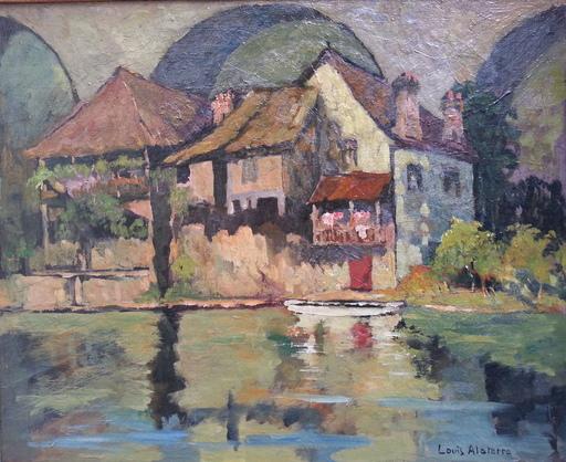 Louis Georges ALATERRE - Painting - Uzerches - Corrèze