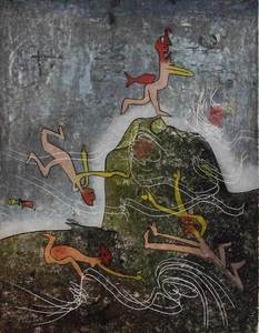 Roberto MATTA - Estampe-Multiple - Untitled