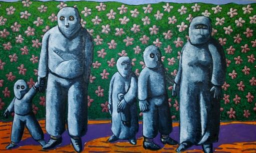 Jacques TANGE - Peinture - Springtime    (Cat N° 4704)