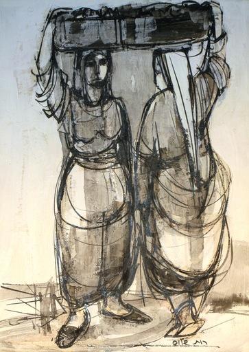 Ruth SCHLOSS - Painting - *Women's Reflections