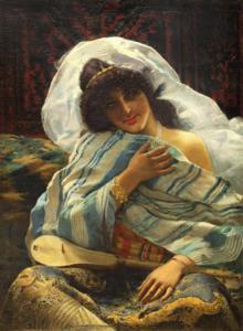 Giovanni GUIDA - Gemälde - Odalisca