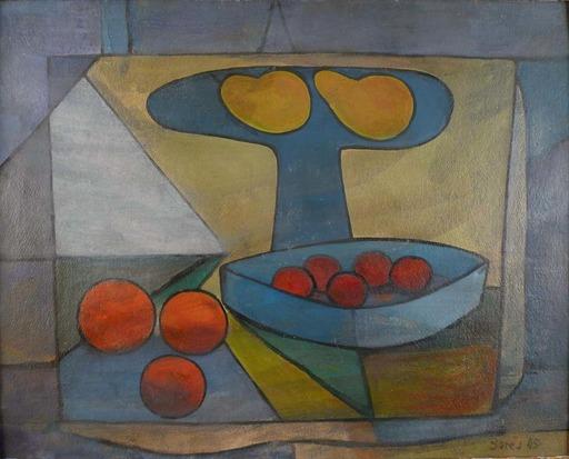 Francisco BORES - Gemälde - Still Life of Fruits