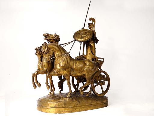 Emmanuel FRÉMIET - Escultura - Le Char de Minerve