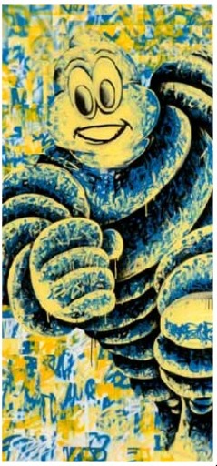 SEEN - Pittura - Michelin Man
