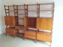 Ico PARISI (1916-1996) - Shelf 50s' in the style of Ico Parisi