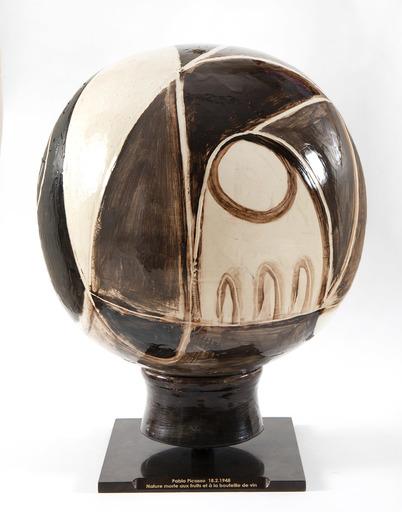 巴勃罗•毕加索 - 陶瓷  - Nature morte sur une sphère