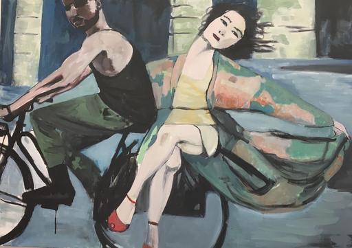 Alienor DE CELLÈS - Peinture - Camboule