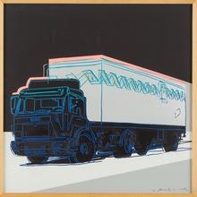 Andy WARHOL - Estampe-Multiple - Truck F&S II.370
