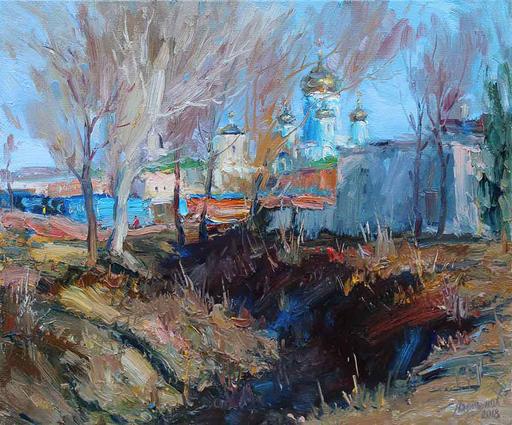 Yuriy DEMIYANOV - Gemälde - avant l'hiver
