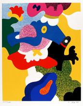 Otmar ALT - Print-Multiple - Abstrakte Komposition
