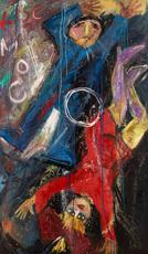 Lev KROPIVNITSKY - Painting - Cosmos