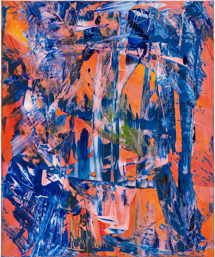 Ursula SCHREGEL - Peinture - Blue desert