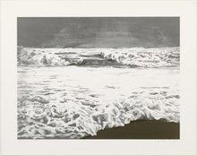 April GORNIK - Grabado - Storm sea