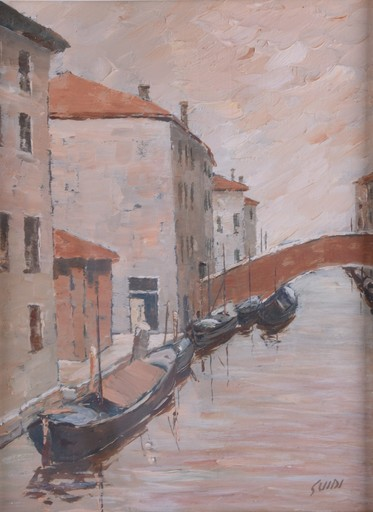 Virgilio GUIDI - Peinture - Sin titulo