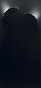 Turi SIMETI - Peinture - 2 ovali neri
