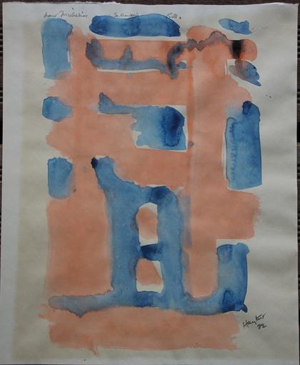 Stanley William HAYTER - 水彩作品 - Aquarelle sur papier avec dédicace