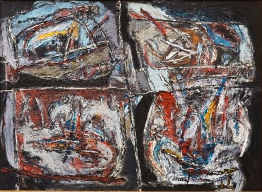 Jacques DOUCET - Pintura - composition
