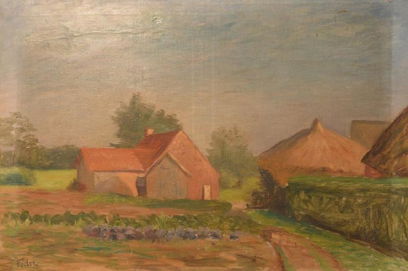 Adolphe FEDER - Painting - Landscape