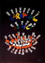 Fernandez ARMAN (1928-2005) -  Nice Carnaval Roi du Rire