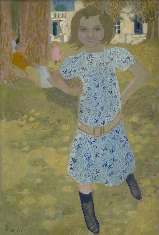 Maurice DENIS - Peinture - Portrait de Jacqueline Fontaine