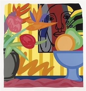 Tom WESSELMANN, Mixed Bouquet With Leger