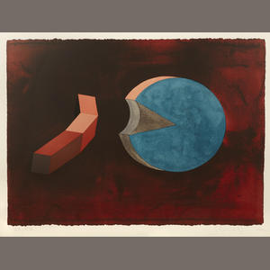Ronald Wendel DAVIS - Grabado - Untitled