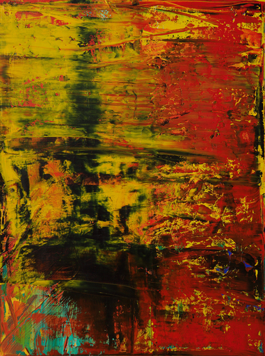Harry James MOODY - Painting - Abstract lalaland No.386