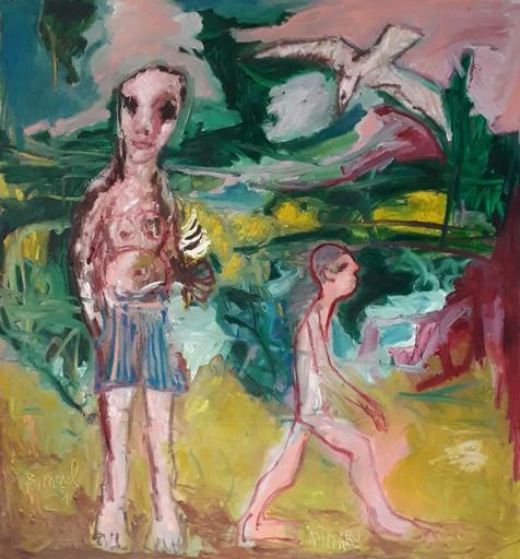 Bernard MOREL - Peinture - GLACE A L'ITALIENNE...DINARD..